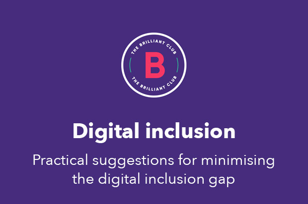 The Brilliant Club's Rapid Review of Digital Inclusion