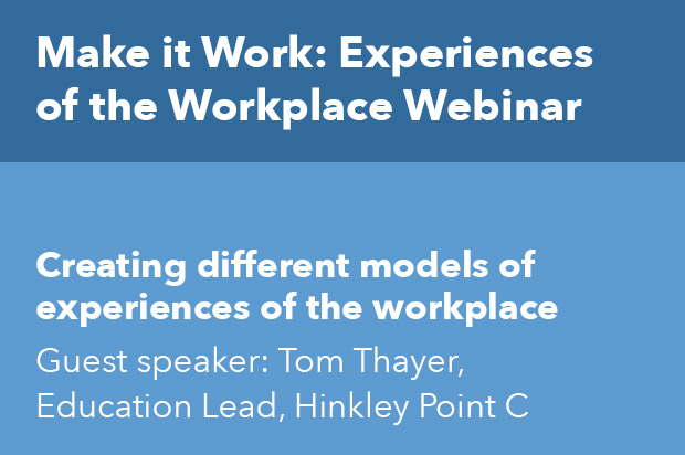 Creating different models of experiences of the workplace